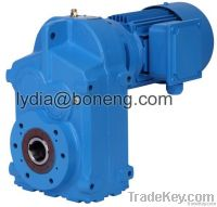 Parallel shafts helical gearboxes gear reducer