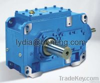 Industrial bevel helical gearboxes