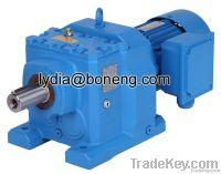 CR series inline helical geared motor