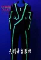 Sell Fluorescent clothing, LED dress, LED Stage Wear, Luminous clothes