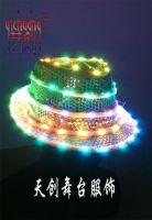 Sell LED Hat, LED dress, LED Stage Wear, Luminous clothes