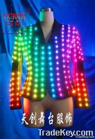 Sell LED dress, LED Stage Wear, Luminous clothes, Fluorescent clothing