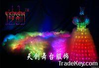 Sell LED Stage costume, LED wedding dress, Fluorescent clothing