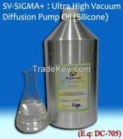 Ultra High Vacuum Silicone Diffusion Pump Oil: SV-SIGMA+