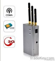 Silencer - Full Spectrum Cellphone signal jammer (CDMA + GSM + 3G)
