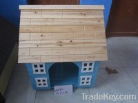 wooden pet house & crafts