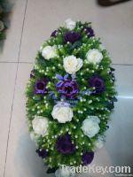 Table wedding flowers, wedding car