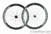 Vogue series 50mm Clincher  Road Carbon Wheels with 2:1 Spokes Ratio