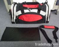 Practical sports gym bag