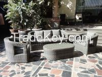 poly rattan furniture synthetic wicker, outdoor indoor furniture