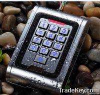 Standalone RFID accecc controller-waterproof metal access controller