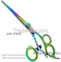 Professional Fancy Barber Salon Hair Cutting Razor Scissors & Shears By Zabeel Industries