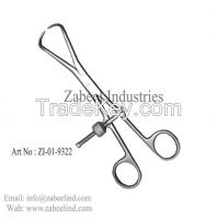 Surgical Orthopedic Pelvic Reduction Forceps,Roux Retractor Blades, Surgical Clamps, Gall Bladder, Thoracic and Lung Surgeryn Surgical Instruments By Zabeel Industries