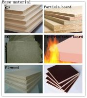 fire resistance decoration material for furniture