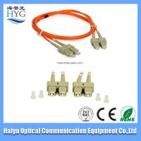 High quality optical fiber patch cord for network solution