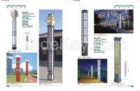 60W 10M 20M landscape lihting lamp street LED