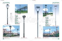 cast aluminium 8M garden lighting lamp street road durable