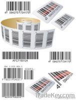 Security Adhesive Bar code