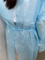 DISPOSABLE CPE GOWN PLASTIC ISOLATION GOWNS