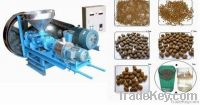 Floating fish pellet machine