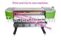 Printer with Cutting Plotter in one machine EC-3000, Digital Printing