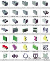 Samples of Block and Brick