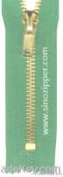 #5 Brass Zipper