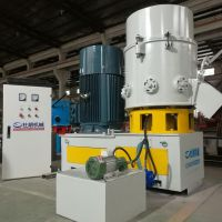 Agglomerator and densifier for pp pe film granules