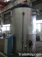vertical hot water boiler