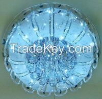 led crystal ceiling lamp