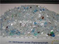 PET Flakes / Recycled PET Bottle Scraps / PET Scraps