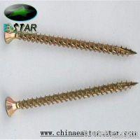 CSK head pozi dirve chipboard screw zinc plated
