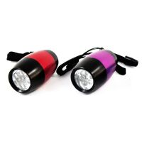 4pc 6LED Barrel Flashlight