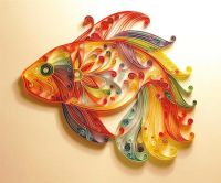 Quilling paper or Art paper quilling