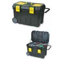 Waterproof hard outdoor large Plastic toolboxes with wheels
