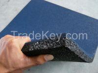 Durable EPDM Rubber Flooring Mat Gym Tiles