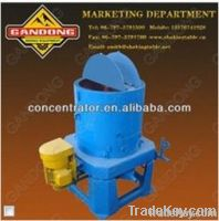 Durable wear parts gravity separator gold concentrator with low price