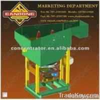 High recovery gold mining plant saw-tooth wave jig
