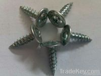 blue white zinc plated-modified truss head self-trapping screw