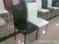 PU synthetic leathedining chairs modern