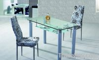 White and tempered quality Dining Tables