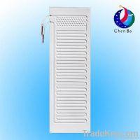 Refrigerator roll bond evaporator