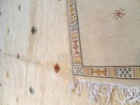 MOROCCAN RUG hand knotted from natural wool