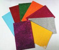 eva foam sheet/glitter foam sheet