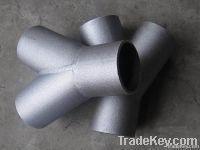 High Pressure alloy steel pipe fittings tee
