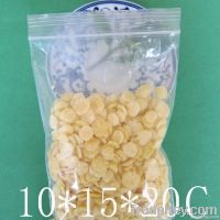 Disposable plastic ldpe ziplock bag for packing food