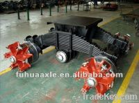 China type Trailer and truck bogie suspension with drum axle