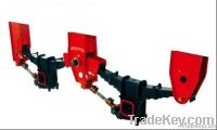 High quality 2 axle  load 430mm America style mechanical suspension