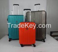 High quality custom logo ABS hard shell luggage travelling bag