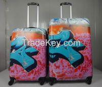newest printing luggage, women luggage, men luggage, kids luggage, abs with pc luggage, expanded luggage, AZ3150